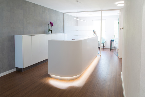 Counter made of Solid Surface Material - Photo: Die Einrichter GmbH, Augsburg